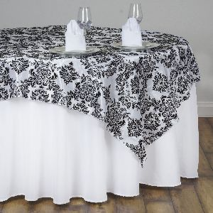 Pcs X Damask Flocking Table Top OVERLAYS Wedding Party - Wholesale table tops