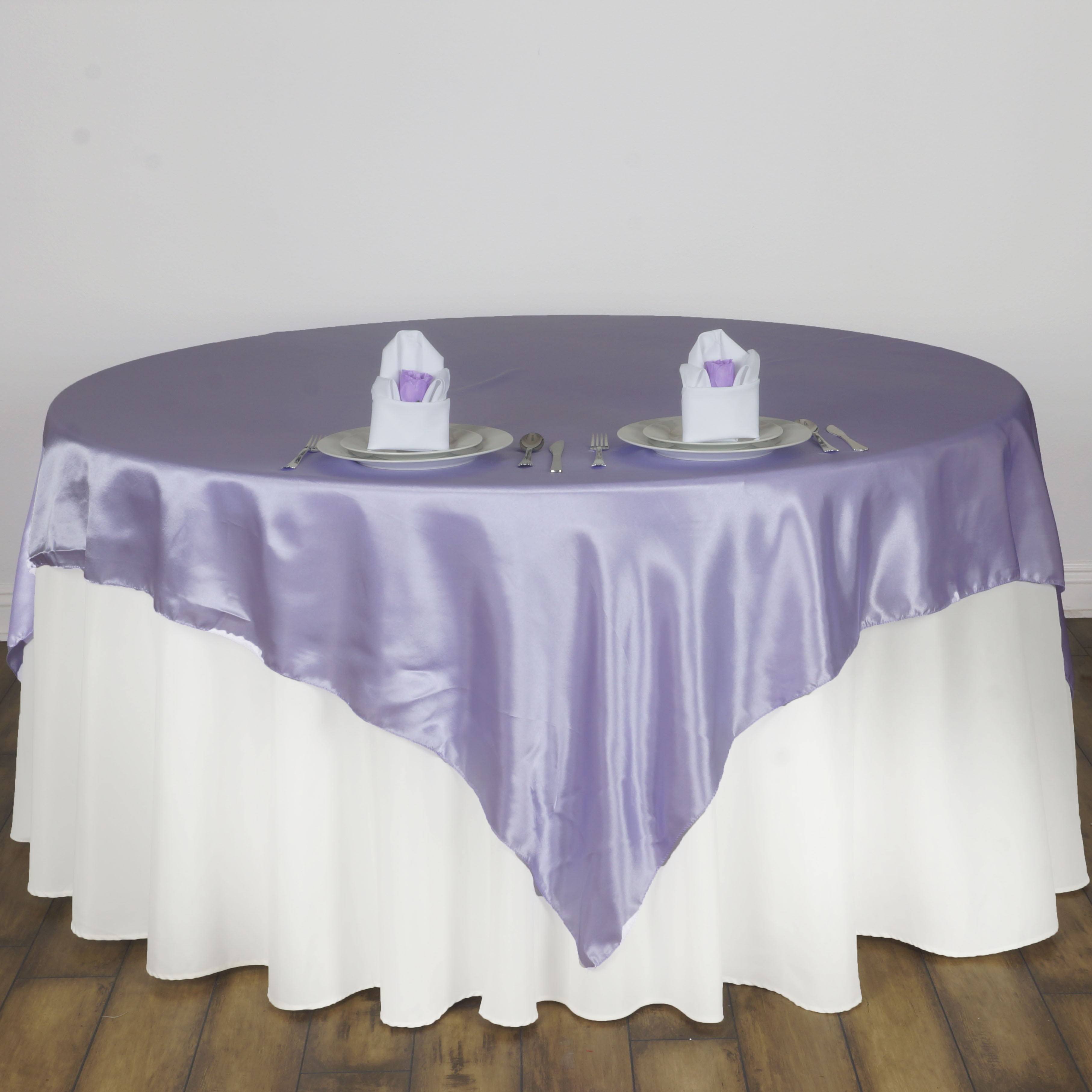 72x72 Quot Square Satin Table Overlays Wedding Party Linens