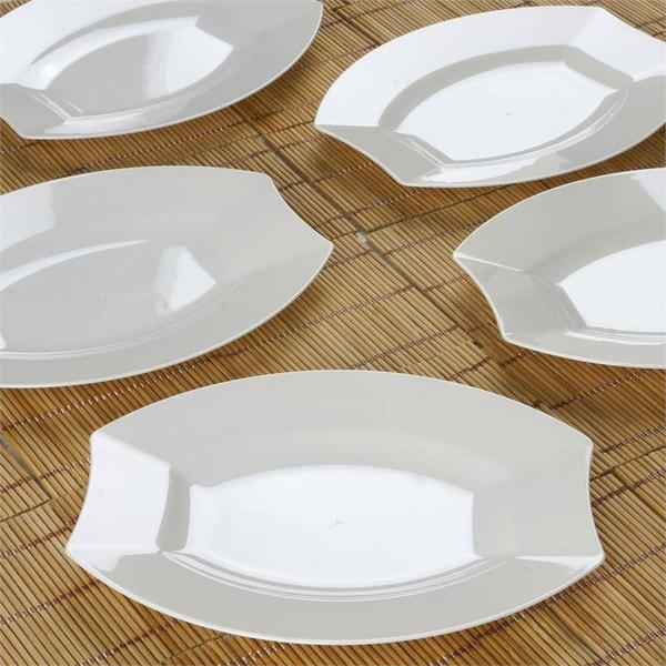 7-5-034-PLASTIC-SALAD-PLATES-Disposable-TABLEWARE- & 7.5