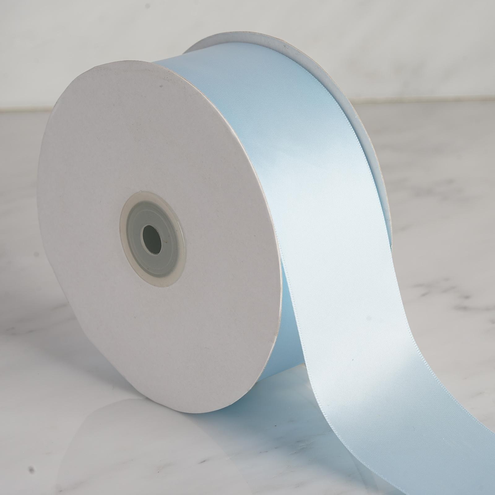 2-034-x-50-yards-Single-Side-Satin-Ribbon-Wedding-Favors-Sewing-Crafts-Decorations thumbnail 13
