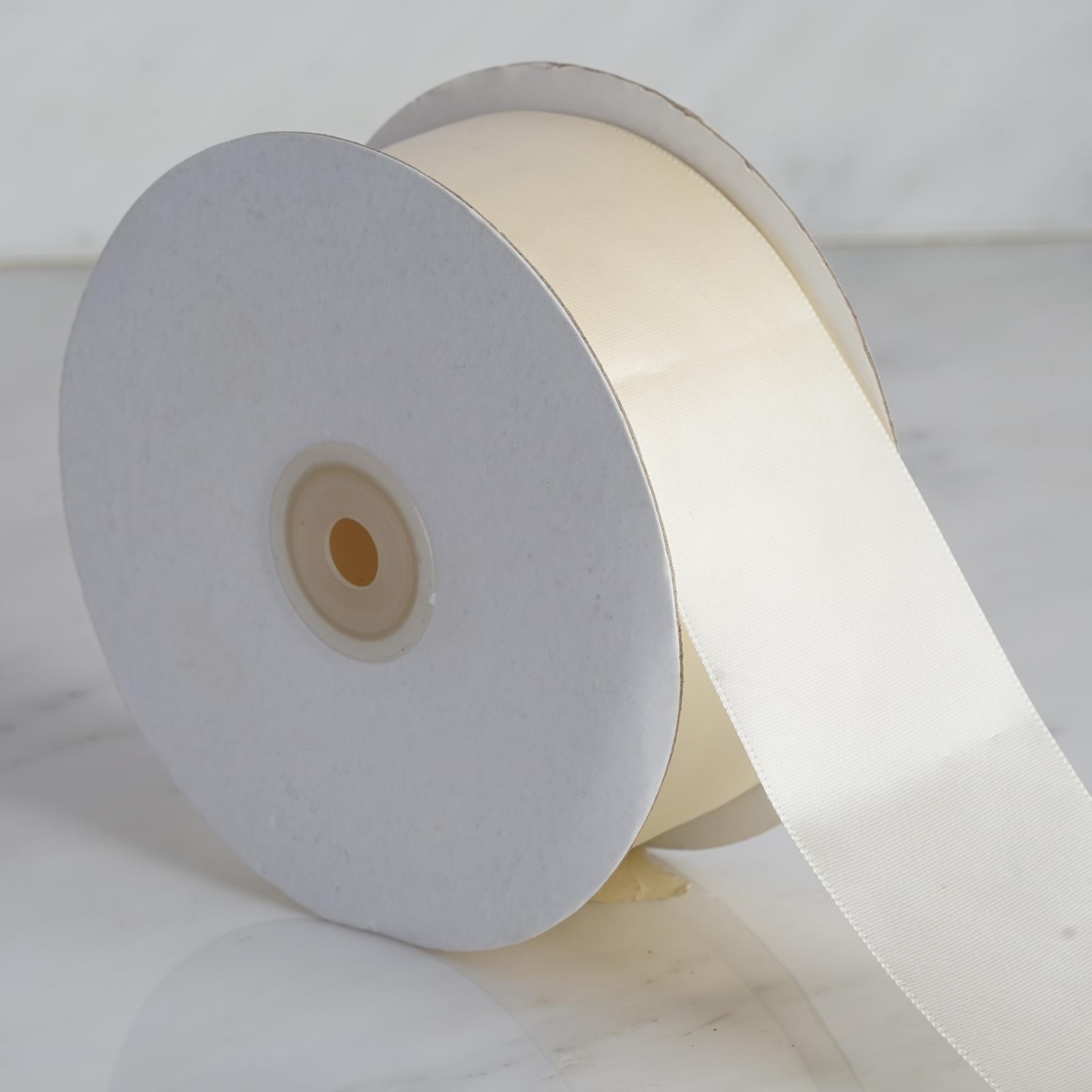 2-034-x-50-yards-Single-Side-Satin-Ribbon-Wedding-Favors-Sewing-Crafts-Decorations thumbnail 7