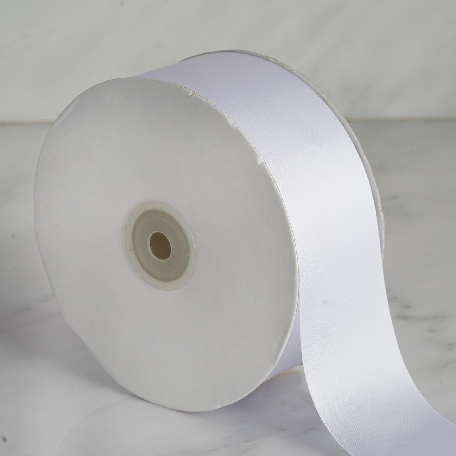 2-034-x-50-yards-Single-Side-Satin-Ribbon-Wedding-Favors-Sewing-Crafts-Decorations thumbnail 19