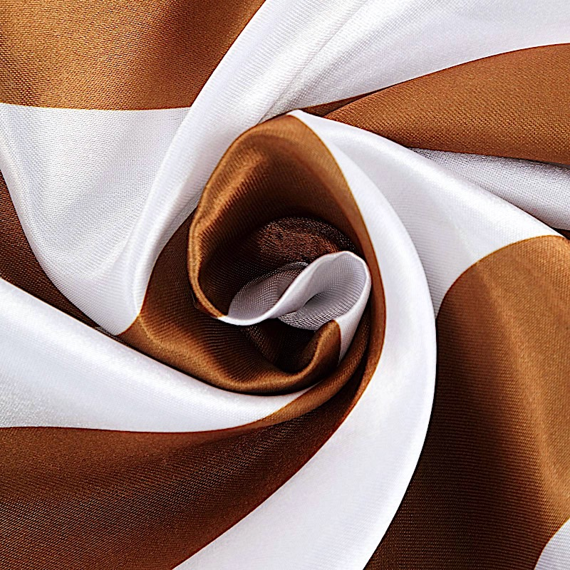 5 pcs Satin Stripe Chair Sashes Party Wedding Dinner Event Decorations Supplies