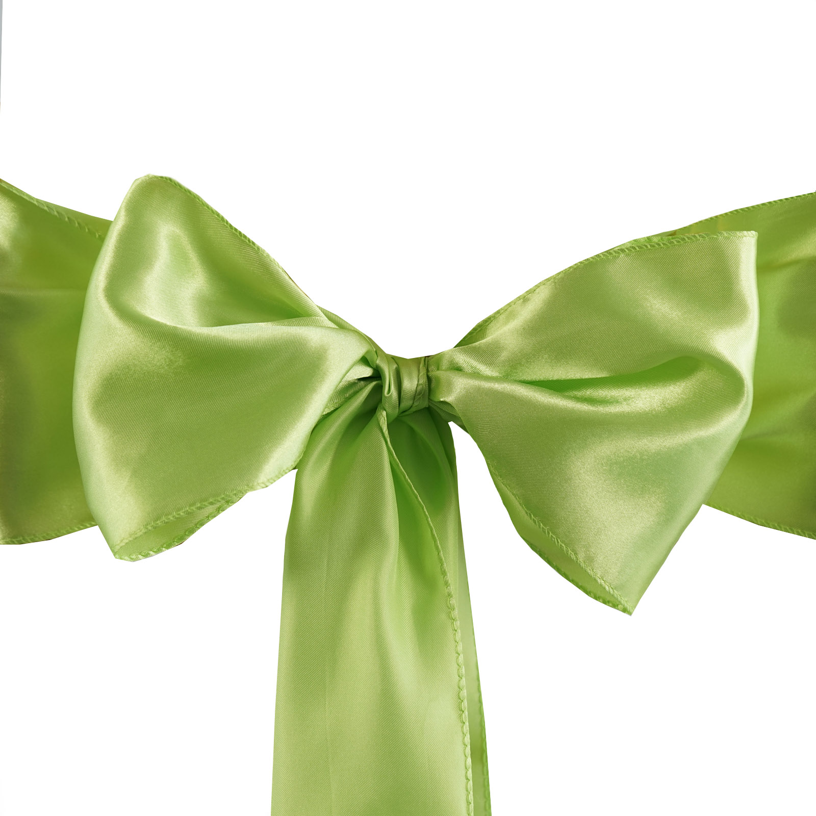 100 New Satin Chair Sashes Bows Ties Wedding Decorations - Wholesale ...