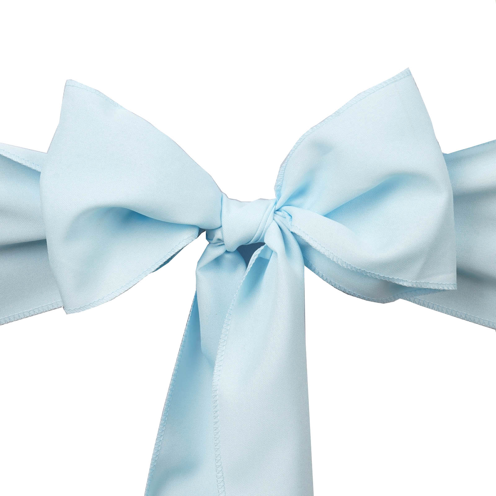 100 Polyester CHAIR SASHES Bows Ties Wedding Party Supplies