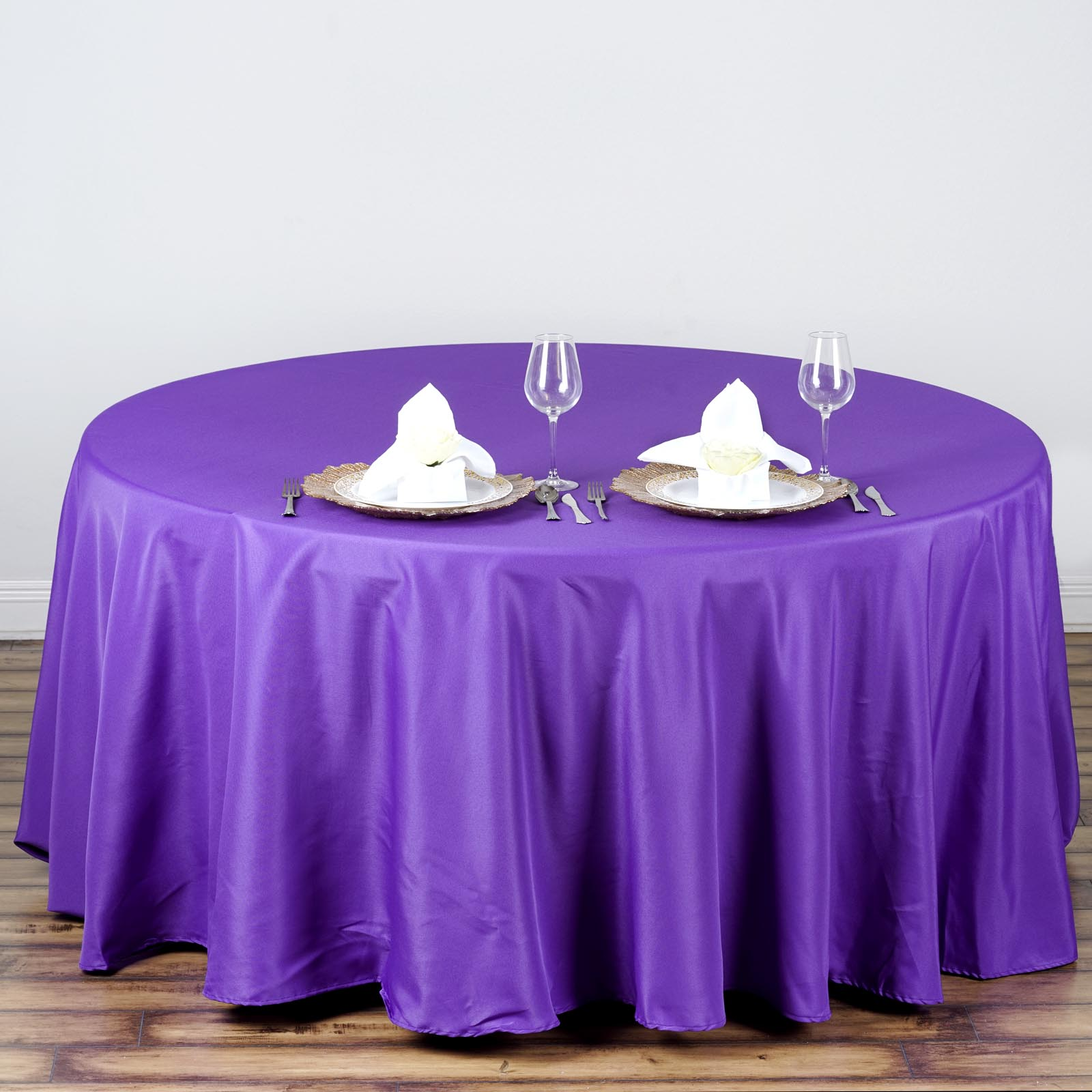 108 Quot Round Polyester Tablecloth Wedding Table Linens