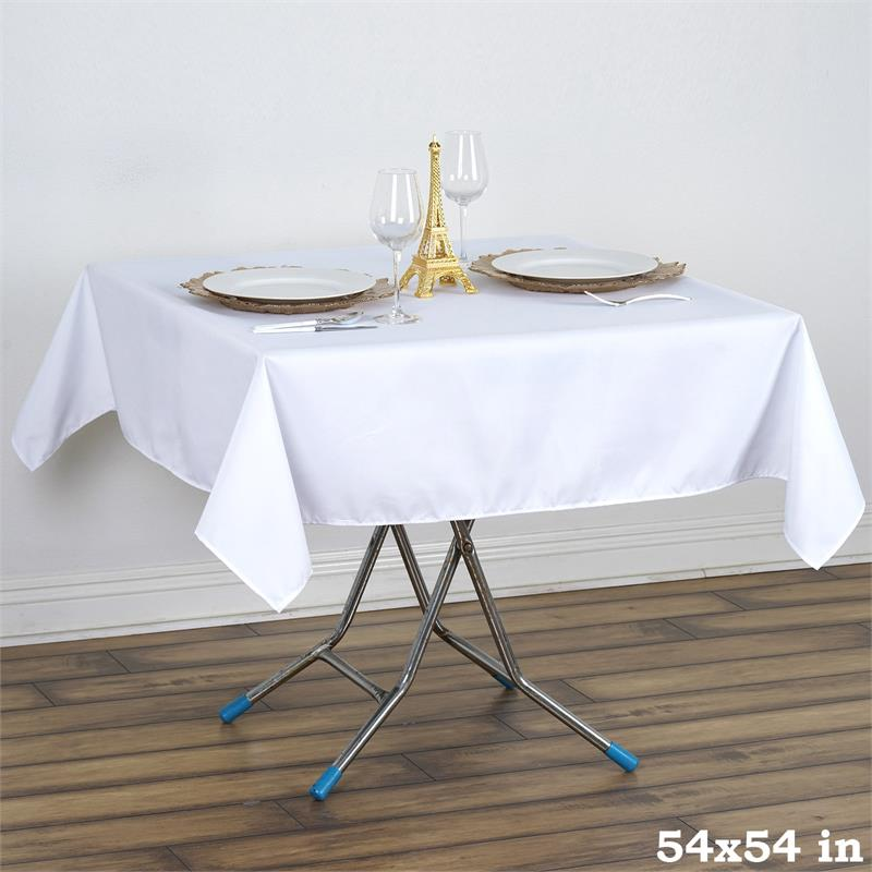 "10 54"" Premium Polyester Square Tablecloths Wedding Party ..."