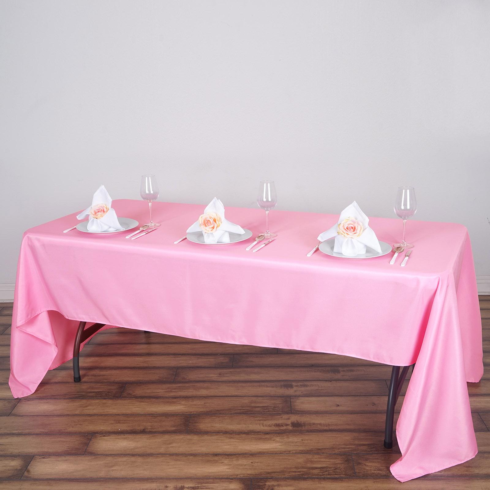 60 034 X 126 034 Polyester Rectangular Tablecloth