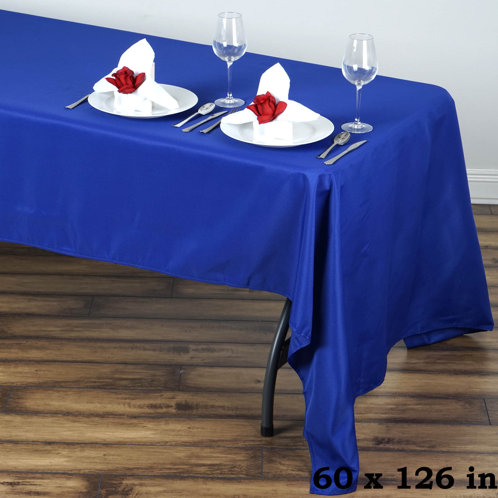 Captivating 60 034 X 126 034 Polyester Rectangular Tablecloth