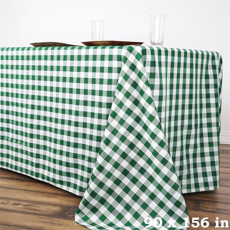 90 034 X 156 034 CHECKERED Gingham Polyester