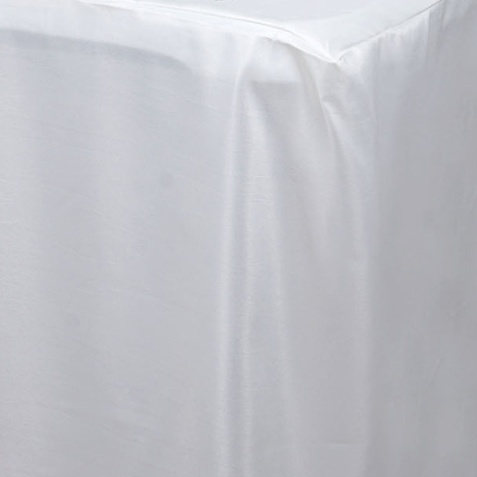 8 ft fitted 96x30 polyester tablecloth wedding catering for 10 foot table cloths