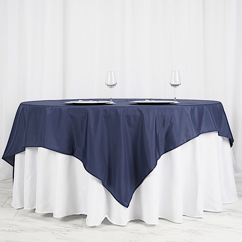 "90x90"" SQUARE POLYESTER Tablecloth Cheap Table Linens ..."