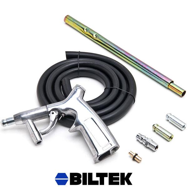 Sandblaster Kit Sandblasting Gun Air Suction Tubes Nozzles Pick Up Sand Blaster