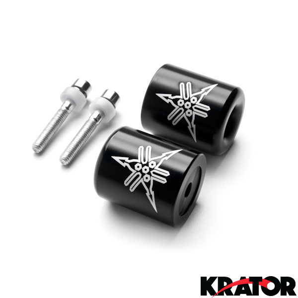 98-12 // YZF-R6 06-12 Spike Carbon For Yamaha Bar Ends Weight Sliders For YZF-R1