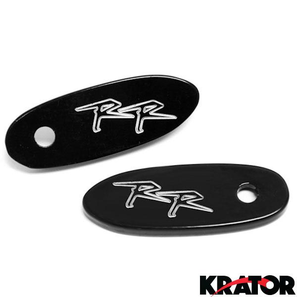 1998-1999 Honda CBR 900 RR 900RR Mirror Block Off Plates