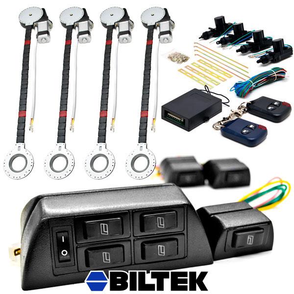 4 Door Car Power Window Lock Unlock Conversion Kit For Automatic