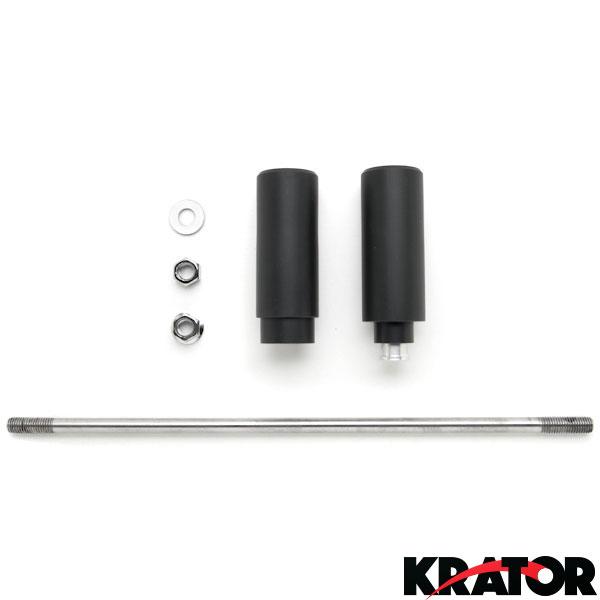 New No Cut Black Frame Slider for Suzuki SV650/SV1000/DL650/DL1000 ...
