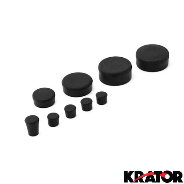 Motorbike Fairing Rubber Frame Plugs for Suzuki GSXR1000 K5 2005-2006