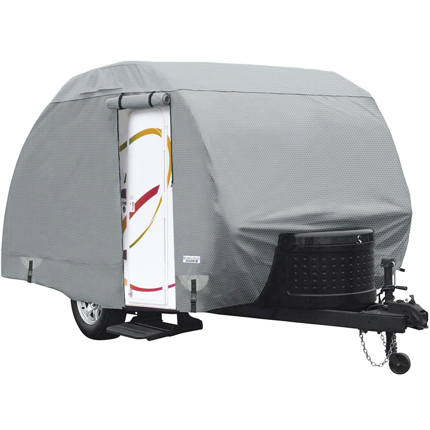 Length Trailer Poly Pro 3 Teardrop Cover Fits R-Pod Fits up to 20 FT