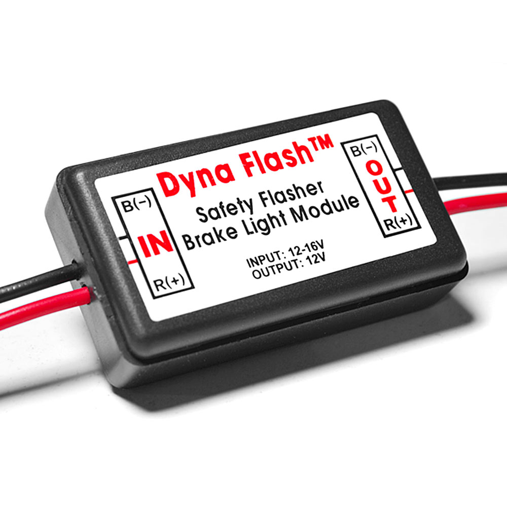 Dyna Flash Strobe Controller Flasher Safety Module For Led
