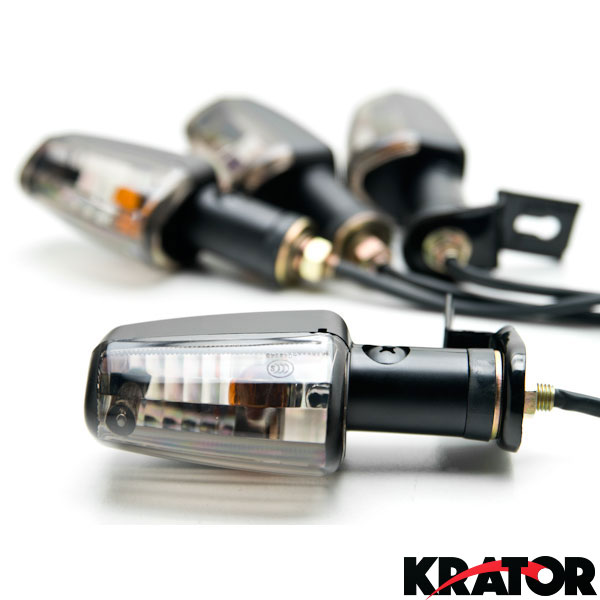 Motorcycle Bike LED Amber Turn Signal Blinker Light Indicator Bulb Universal PB