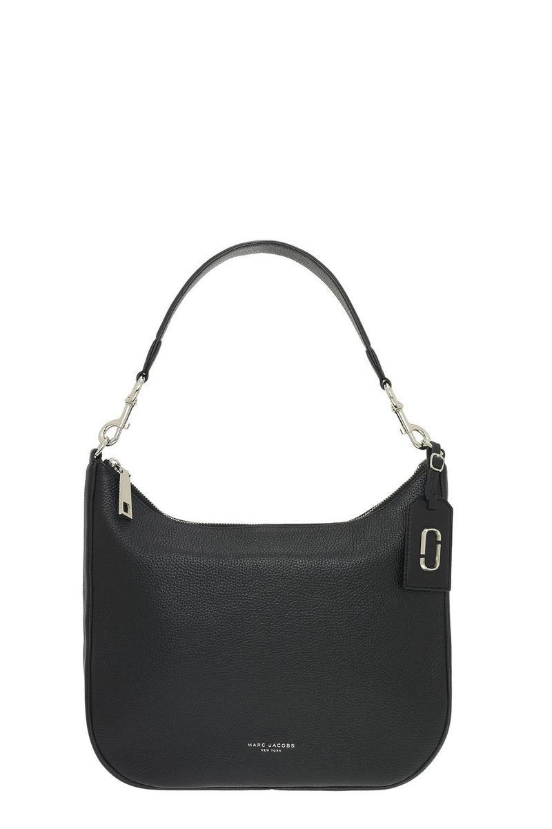 de28b8c0f6a9 Marc Jacobs Leather Gotham Hobo Bag in Black 889732481352