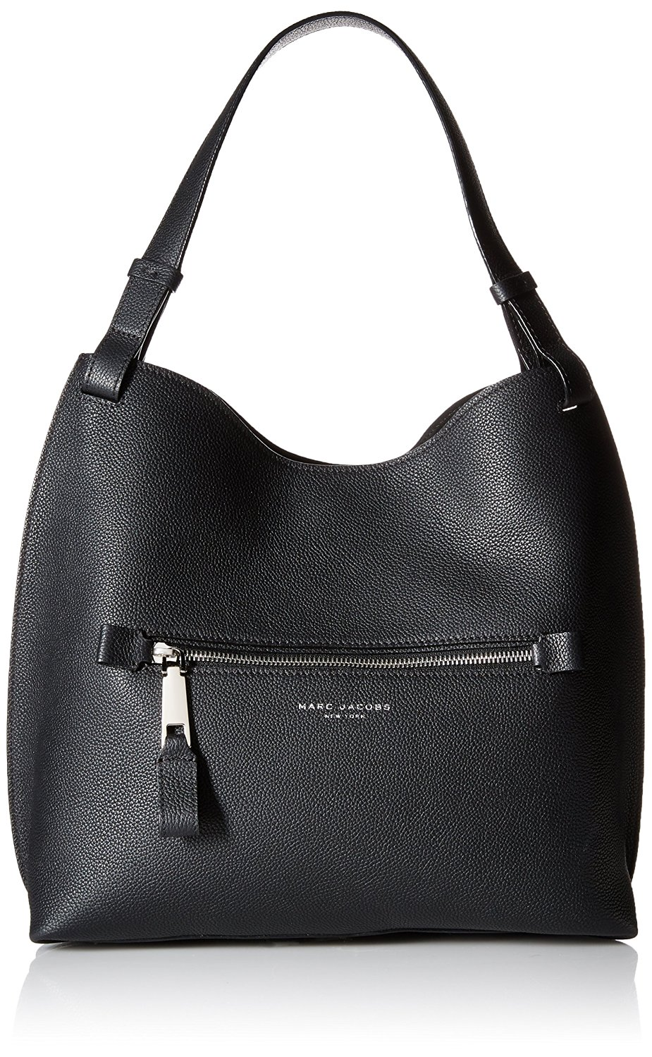 8950991a6c9e Marc Jacobs Waverly Leather Small Hobo Bag in Black 889732549663