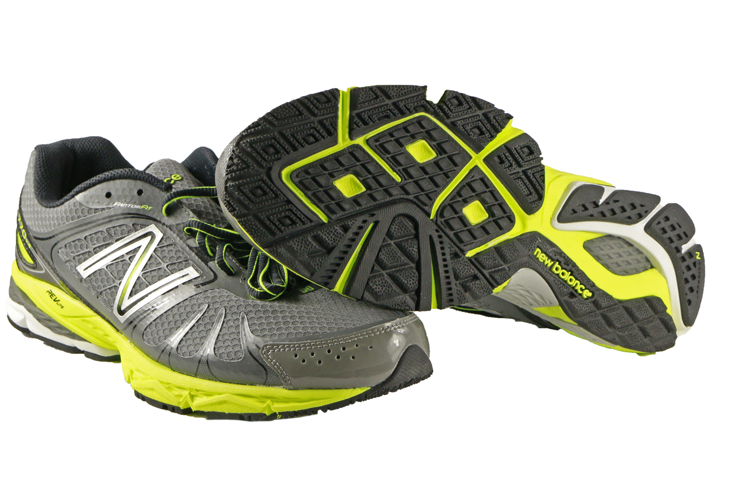 5cd484c19af50 New Balance Mens 770GY4 Running Course Shoes in Grey/Yellow size 10 ...