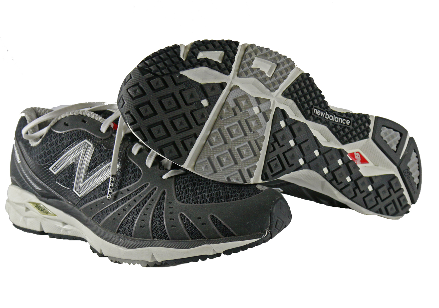636748c86d15 New Balance Mens MR890 Running Course Shoes in Black White size 10 ...