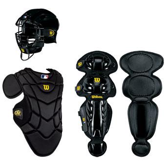Wilson EZ Gear Youth Catcher's Gear Kit (Ages 7-12) Black ... - photo#7
