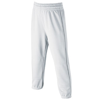 Wilson A4197 Black Pull On Baseball Pant Youth