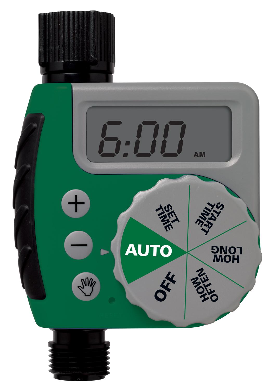 Orbit 62061z One Dial Garden Hose Digital Water Timer
