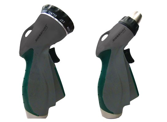 Spray Hose Nozzle: Orbit 2pk Water Hose Spray Nozzles, Signature Series, Lawn