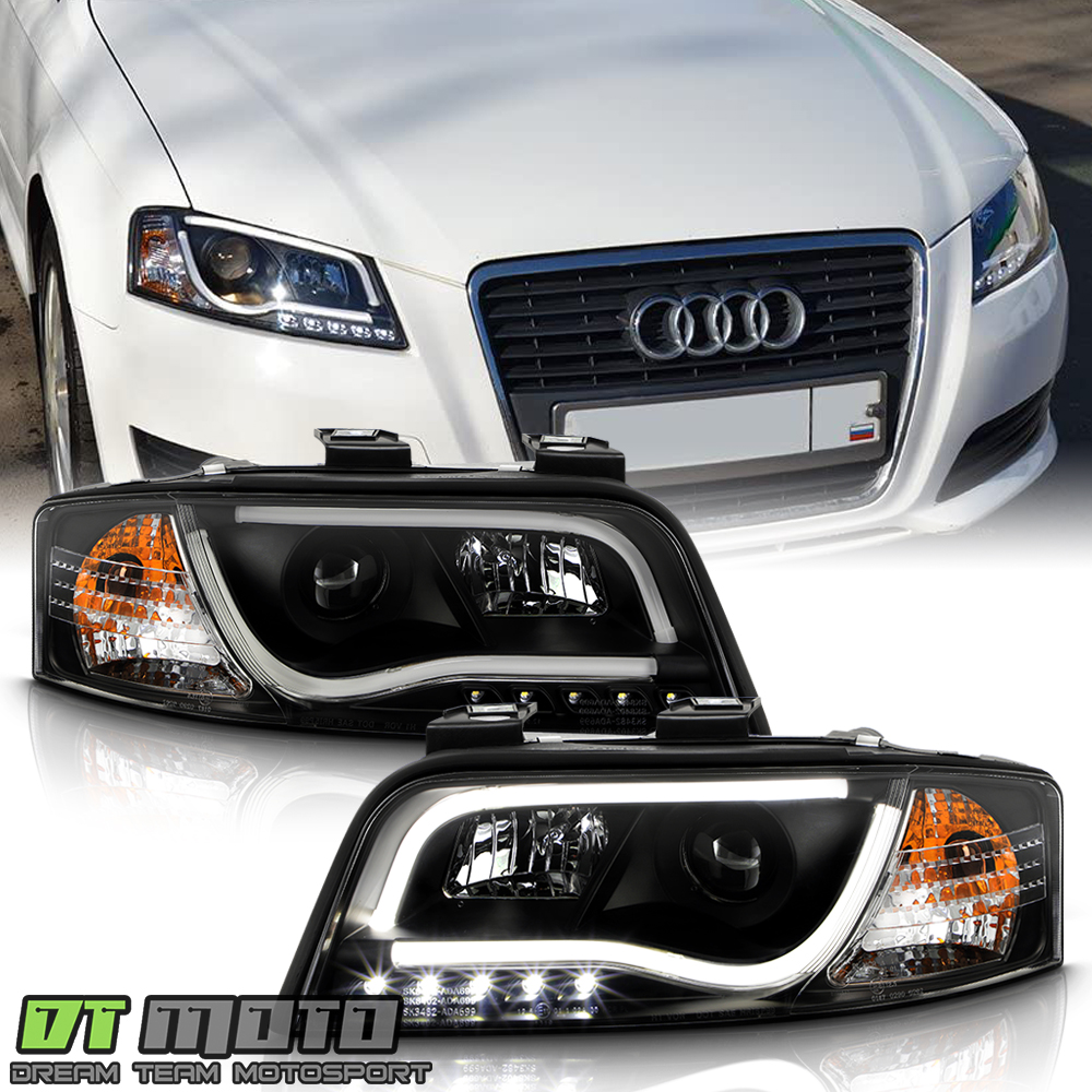 Audi A4 2004-2008 Daytime Running Lamp DRL Pair Left /& Right