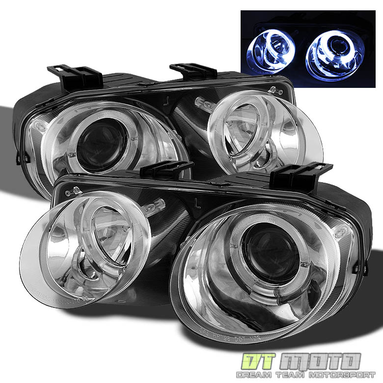 1998-2001 Acura Integra LED Halo Projector Headlights
