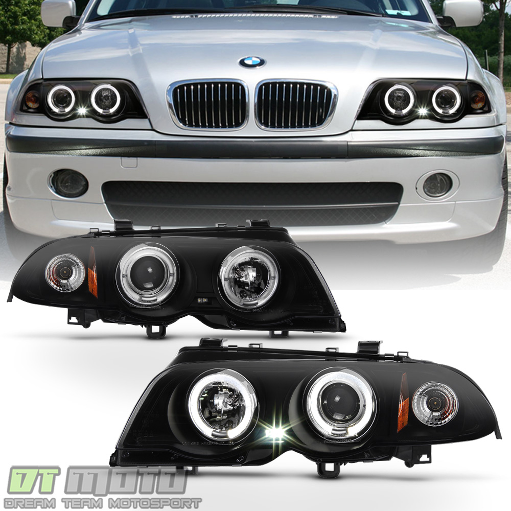 black smoke 1999 2001 bmw e46 325i 323i 328i sedan led. Black Bedroom Furniture Sets. Home Design Ideas