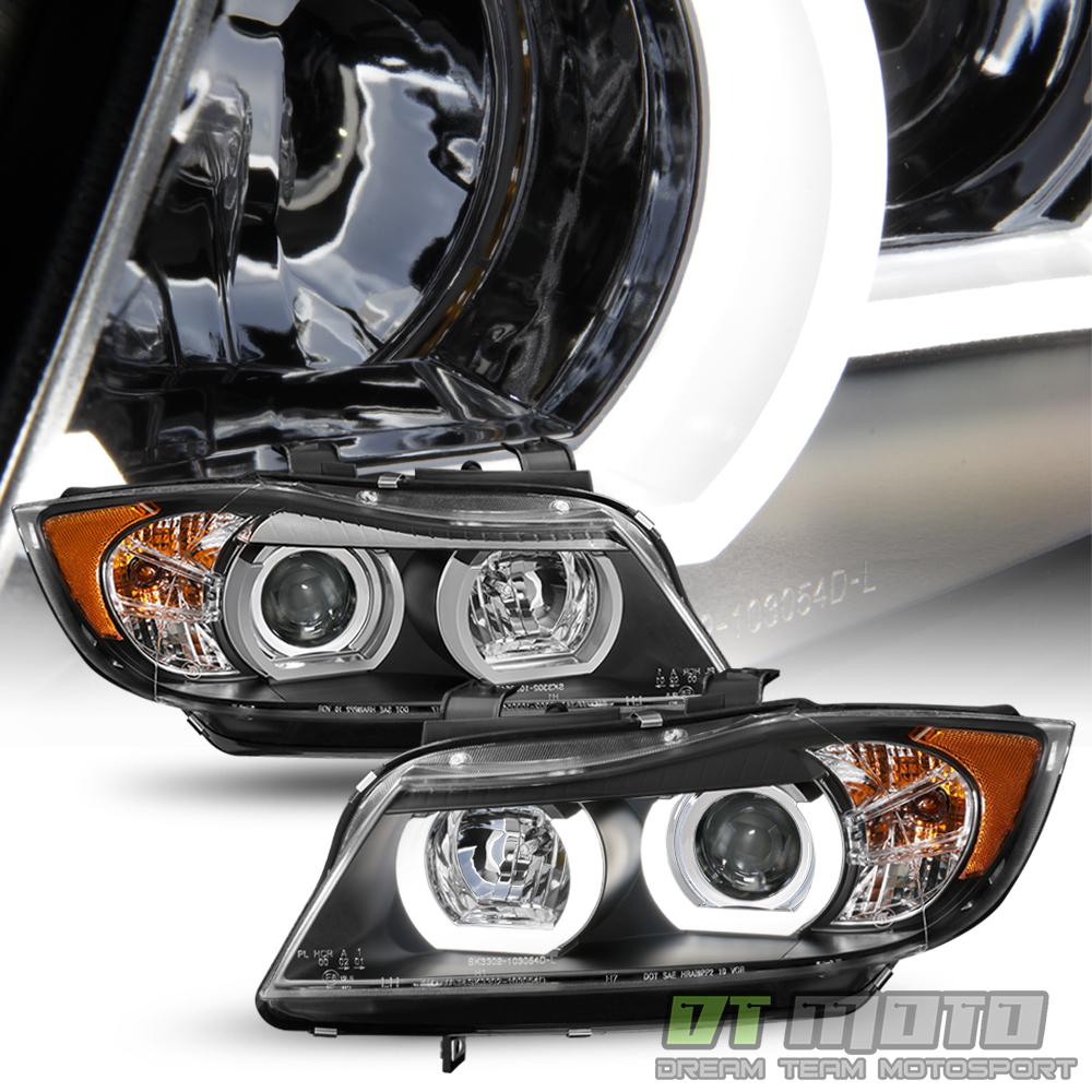 Bmw Xenon Headlights: HID/Xenon 2006 2007 2008 BMW E90 3-Series Sedan LED 3D