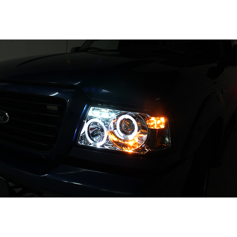 2001-2011 Ford Ranger Angel Eye Halo  Led Projector-5330