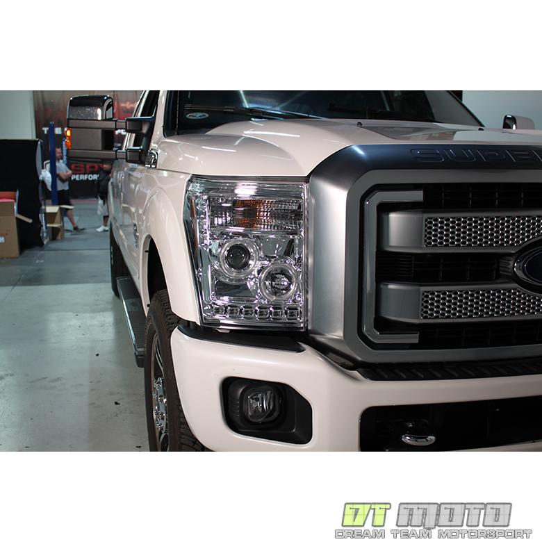 2011-2016 Ford F250 F350 F450 F550 Superduty LED CCFL Halo