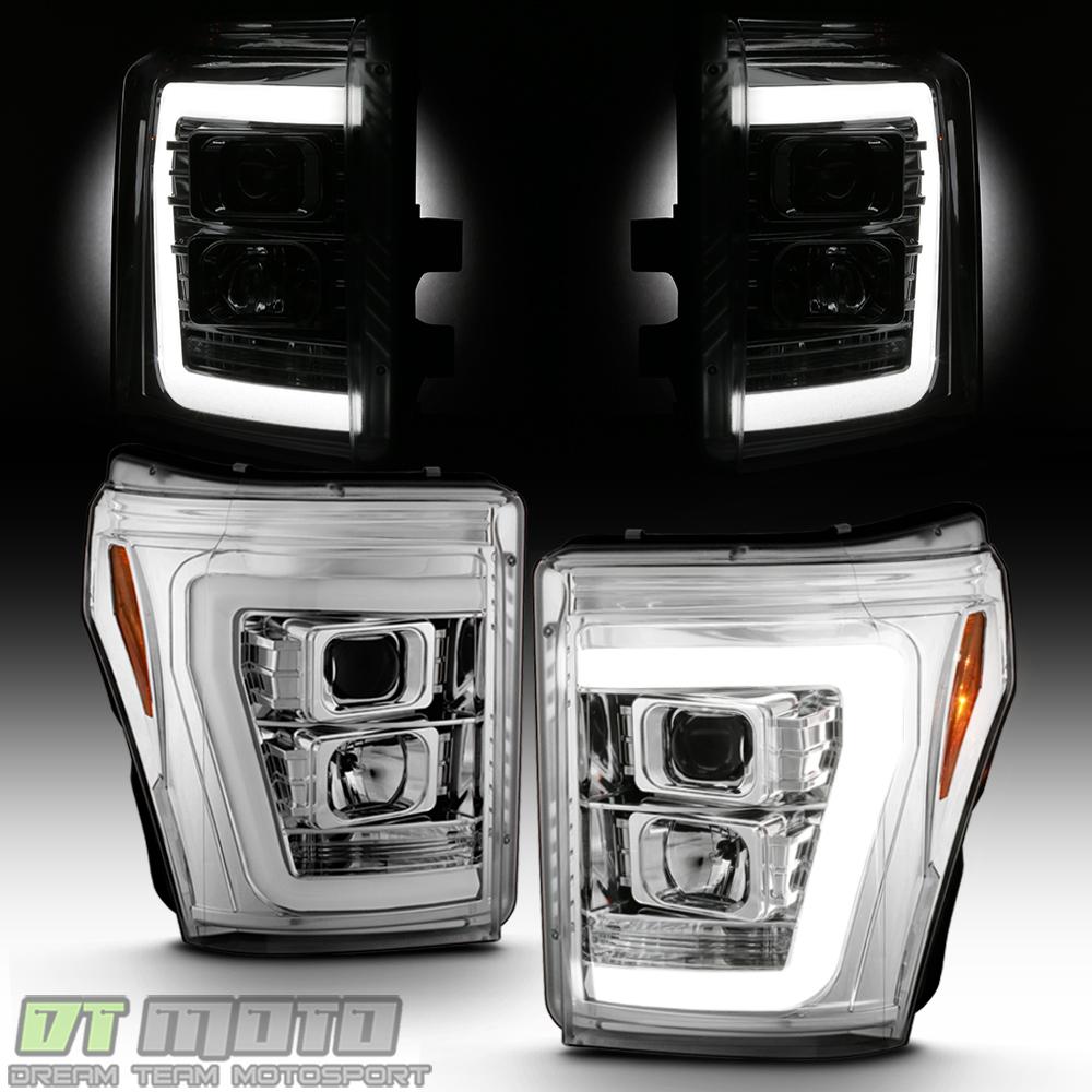 "2011-2016 Chevy Cruze /""LED Light Tube/"" DRL Halo Projector Headlights Headlamps"
