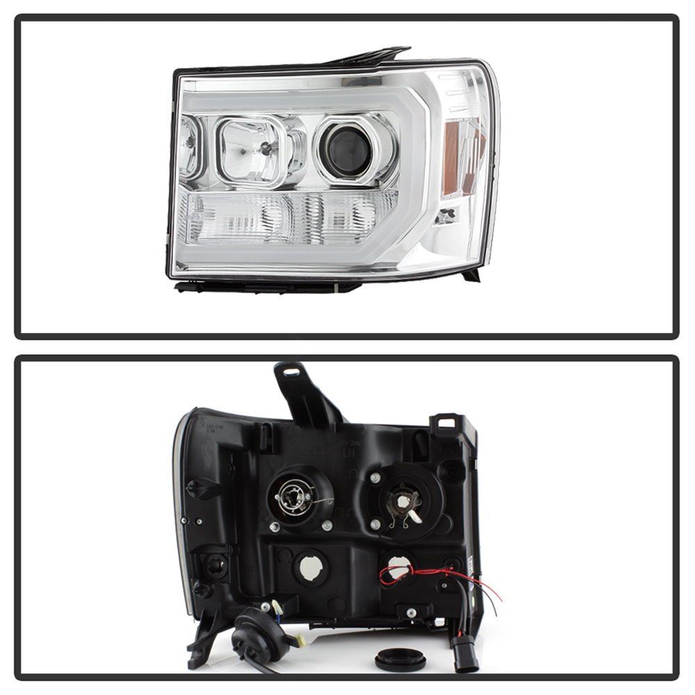 Updated LED Tube Style 2007-2013 GMC Sierra 1500 2500 3500