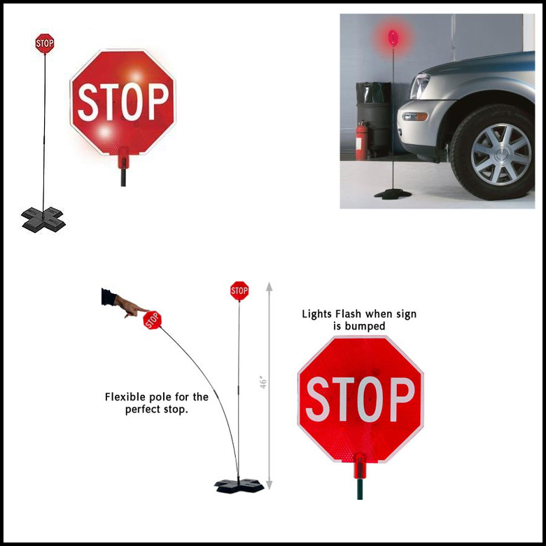 "46"" Park Parking Garage Stop Sign Guide Light Parking Led"