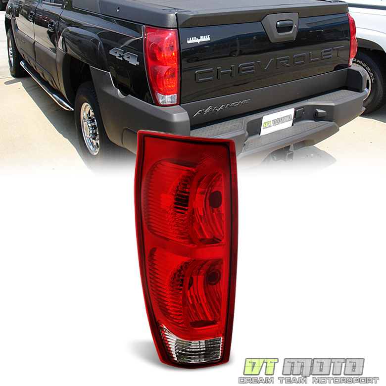 2002 2006 chevy avalanche tail lights brake lamps left. Black Bedroom Furniture Sets. Home Design Ideas
