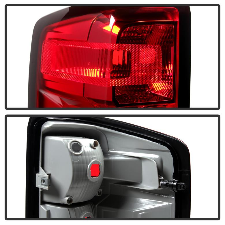 2014-2017 Chevy Silverado 1500 Tail Light Brake Lamp