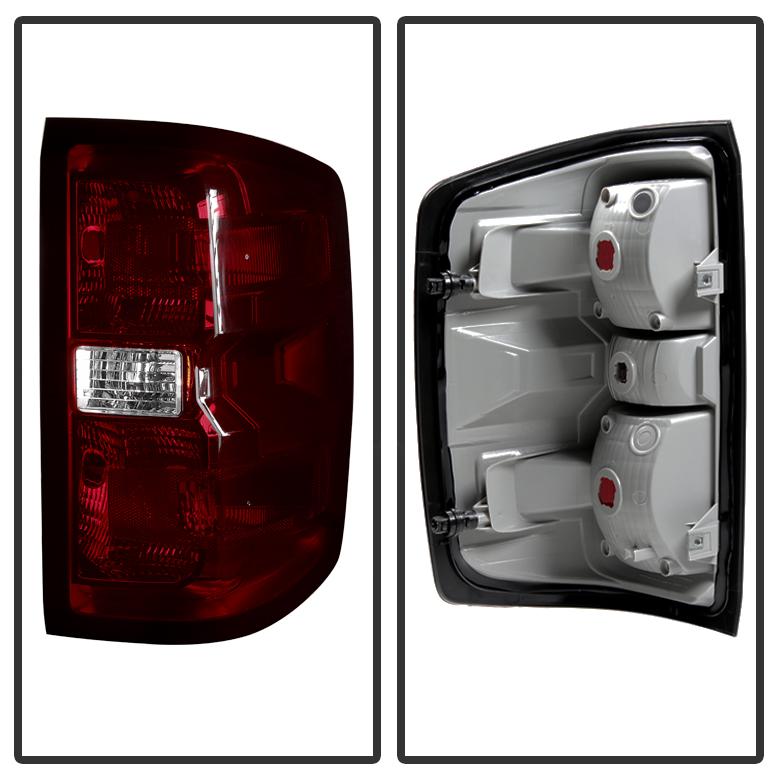 2014-2017 Chevy Silverado 1500 15-17 2500HD 3500HD Red