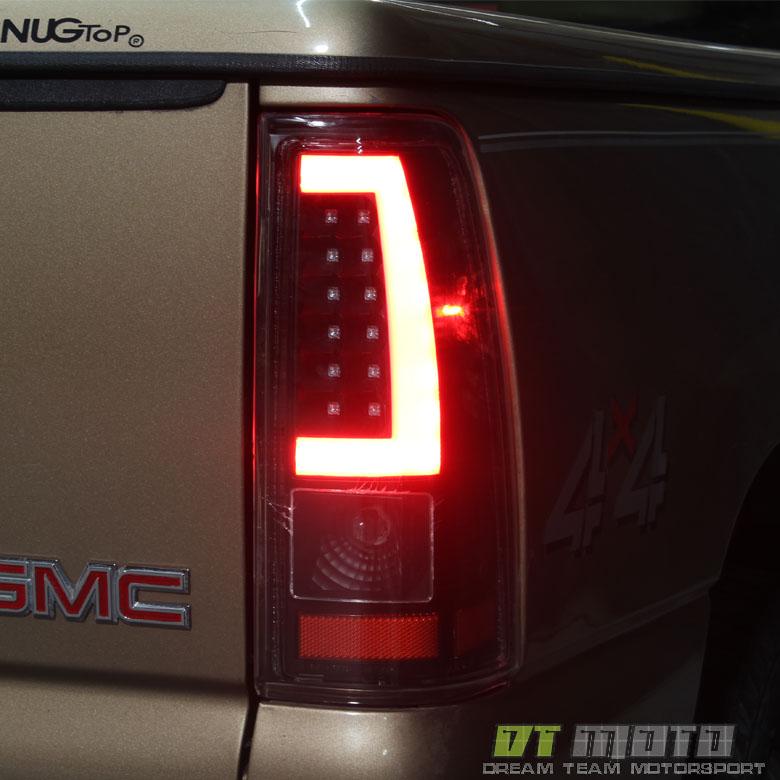 silverado tail chevy lights gmc sierra 2002 led 1999 1500 tube lamps chevrolet light parts 2000 compatible trucks stepside cars