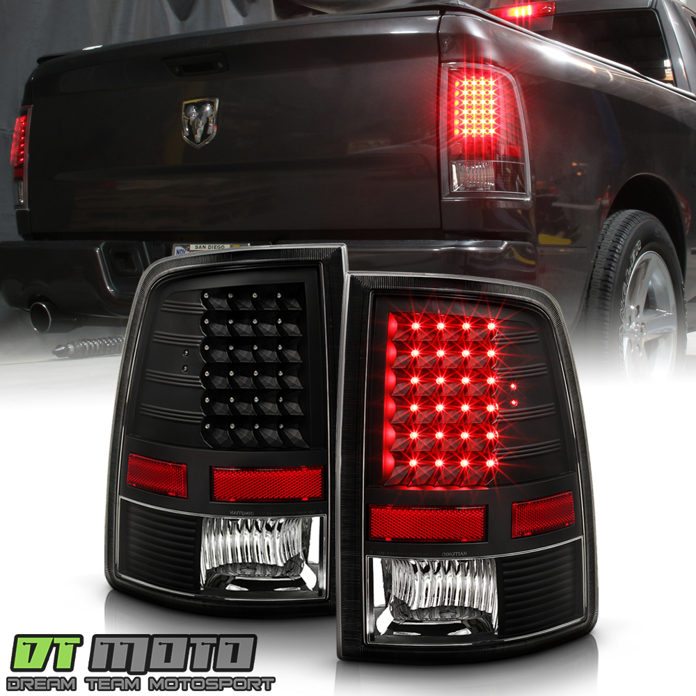 2009-2018 Dodge Ram 1500 2500 3500 Pickup LED Tail Lights