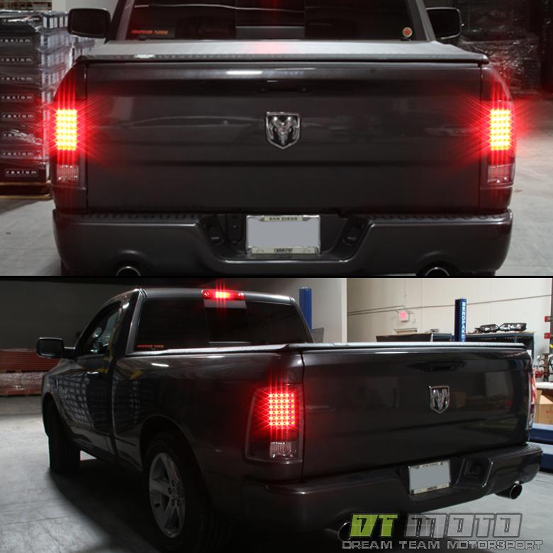 Black Smoke 2009-2018 Dodge Ram 1500 2010-2018 2500/3500