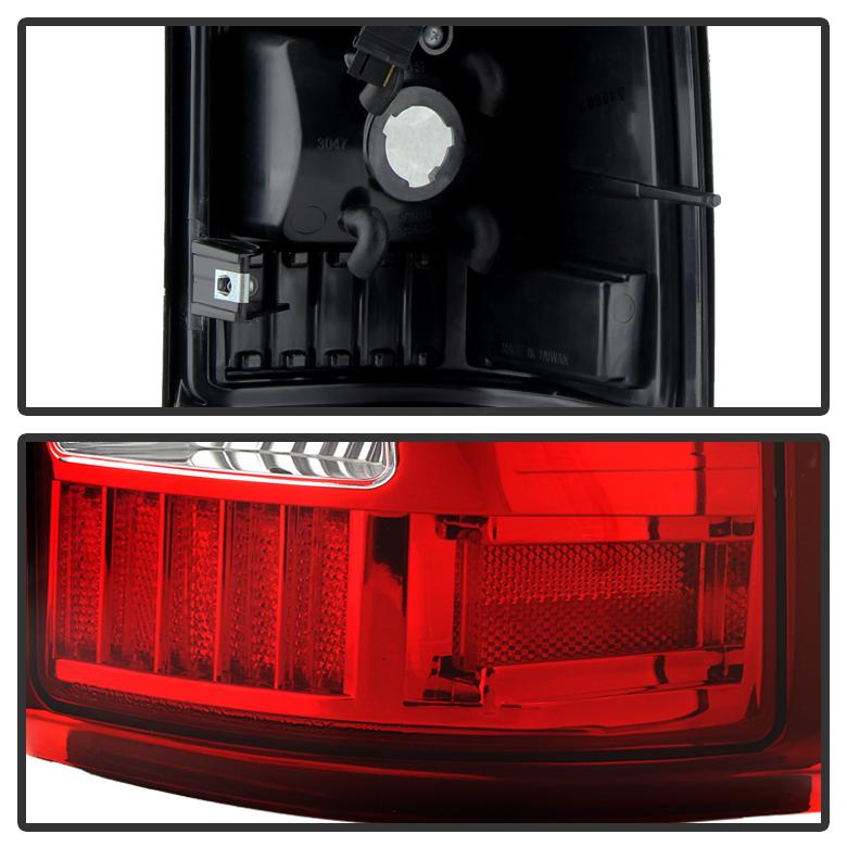 1999-2002 Chevy Silverado 1500 99-06 GMC Sierra Red LED