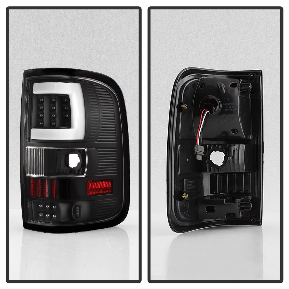 Black 2004 2005 2006 2007 2008 Ford F150 Lobo Pickup Led Tube Tail 1962 Truck Brake Lamp Wiring